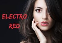 Electro Red Contacts - 1 Day